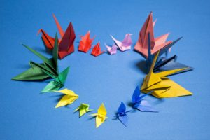 JSGH origami party